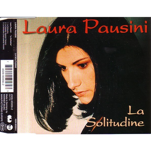 Laura Pausini - La Solitudine piano sheet music