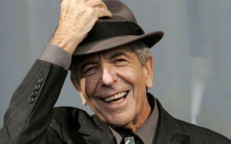Leonard Cohen  piano sheets