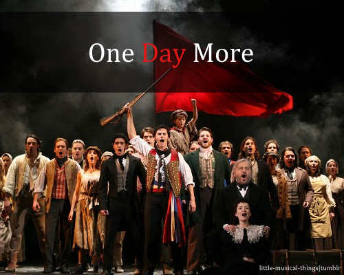 Les Miserables -  One Day More piano sheet music