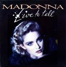 Madonna - Live To Tell piano sheet music