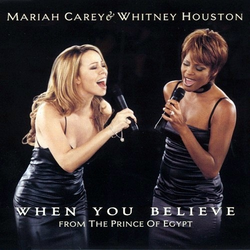 Mariah Carey - When You Believe (feat. Whitney Houston) piano sheet music