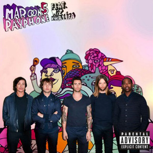 Maroon 5 - Payphone (ft. Wiz Khalifa) piano sheet music