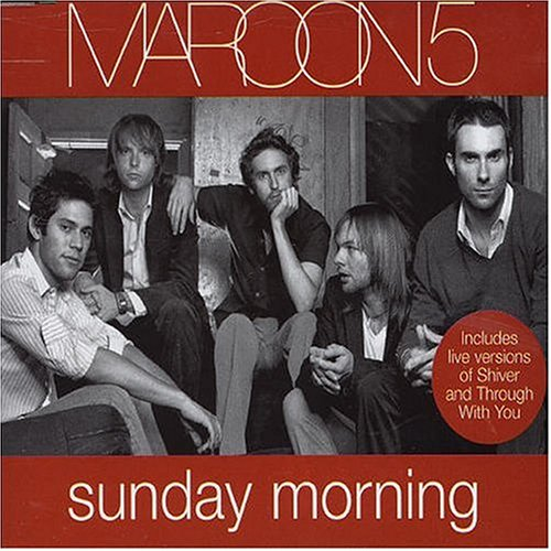 Maroon 5 - Sunday Morning piano sheet music