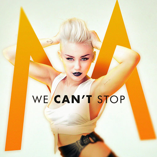 Miley Cyrus - We Can't Stop piano sheet music