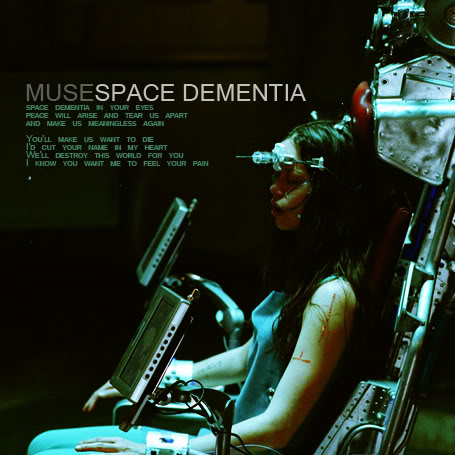 Muse - Space Dementia piano sheet music