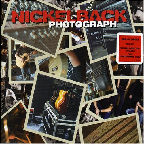 Nickelback - Photograph piano sheet music