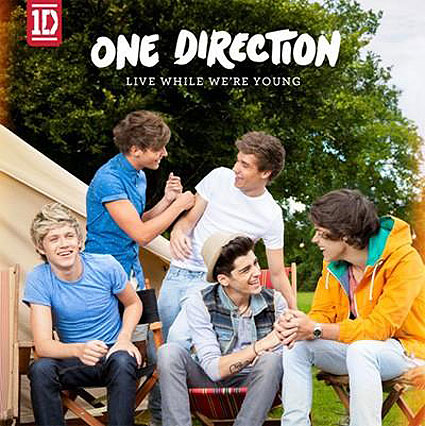 One Direction - Live While We're Young piano sheet music