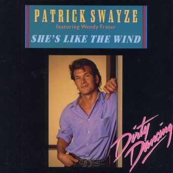 Patrick Swayze - She's Like The Wind (Dirty Dancing) piano sheet music