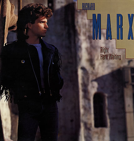 Richard Marx - Right Here Waiting piano sheet music
