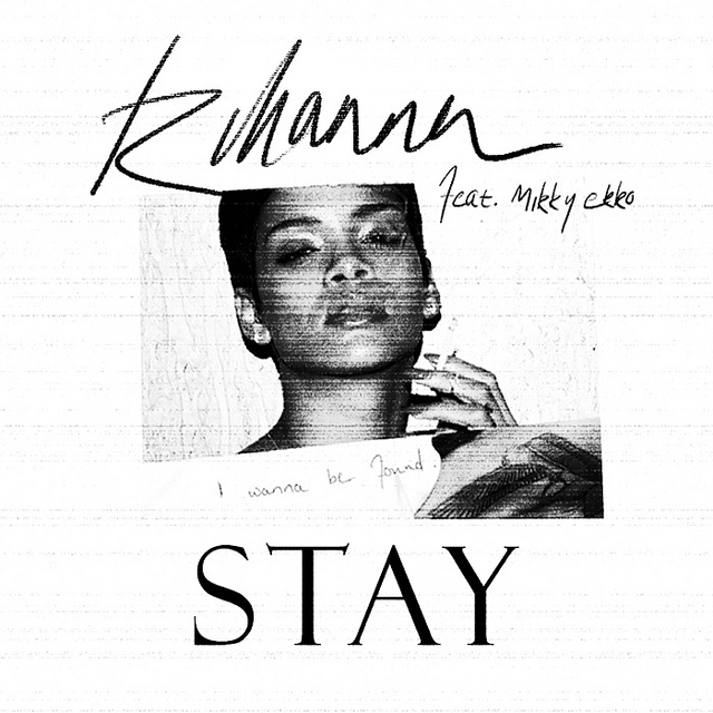 Rihanna - Stay piano sheet music