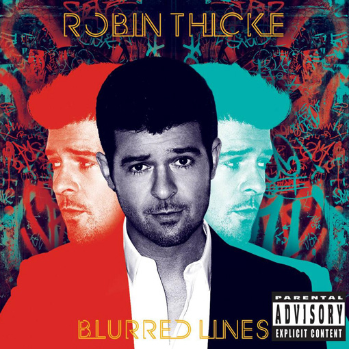 Robin Thicke - Blurred Lines piano sheet music