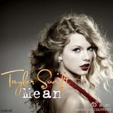 Taylor Swift - Mean piano sheet music