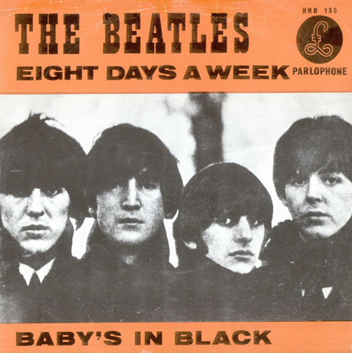The Beatles - Eight Days a Week piano sheet music