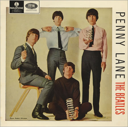 The Beatles - Penny Lane piano sheet music