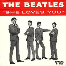 The Beatles - She Loves You piano sheet music