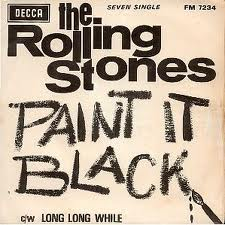 The Rolling Stones - Paint It, Black piano sheet music