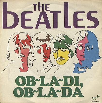 The Beatles - Ob-La-Di, Ob-La-Da piano sheet music
