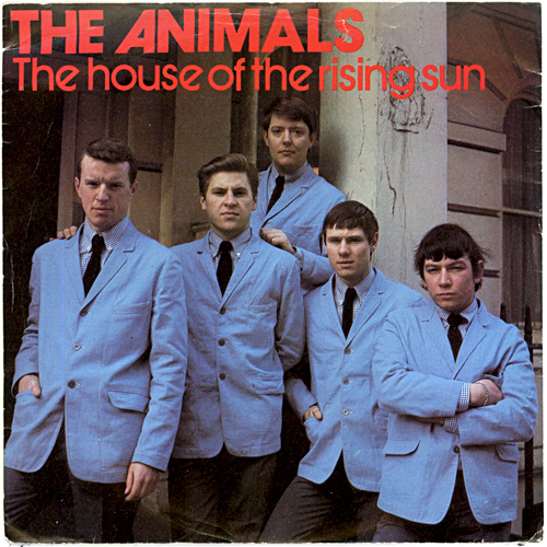 The Animals - The House Of The Rising Sun piano sheet music
