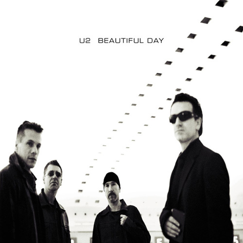 U2 - Beautiful Day piano sheet music