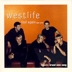 Westlife - Fool Again piano sheet music