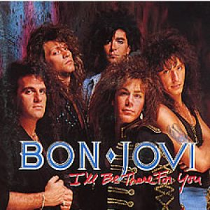 Bon Jovi - I'll Be There for You piano sheet music