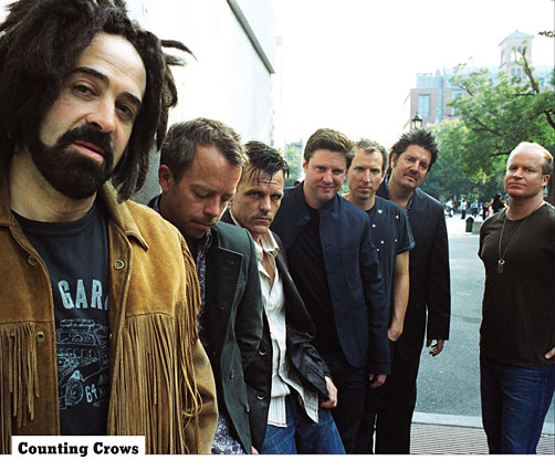 Counting Crows free piano sheets