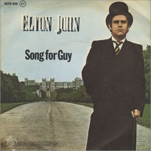 Elton John - Song for Guy piano sheet music