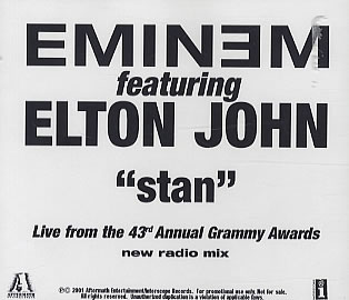 Eminem - Stan (feat. Elton John) piano sheet music