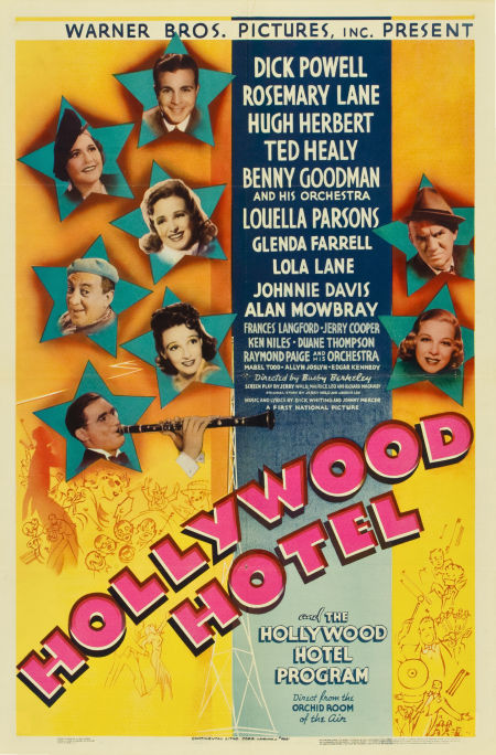 Hollywood Hotel  piano sheets