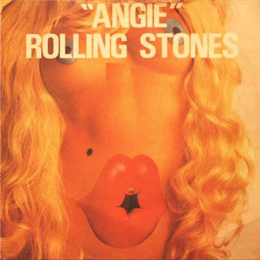 The Rolling Stones - Angie piano sheet music