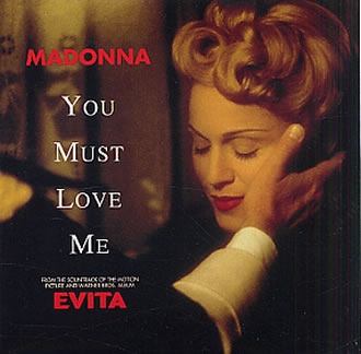 Madonna - You Must Love Me (Evita) piano sheet music