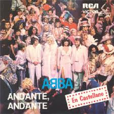 Abba - Andante, Andante piano sheet music