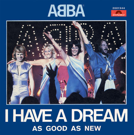 Abba - I Have a Dream piano sheet music