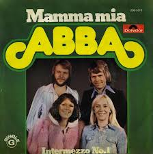 Abba - Mamma Mia piano sheet music