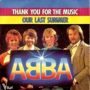 Abba - Our Last Summer piano sheet music