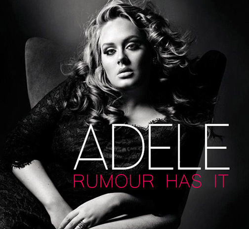 Adele - Rumor Has It piano sheet music