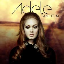 Adele - Take It All piano sheet music
