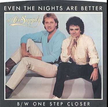 Air Supply - Even the Nights Are Better piano sheet music