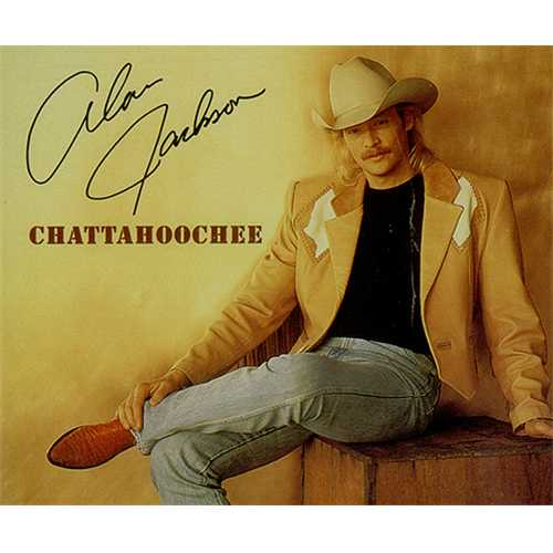 Alan Jackson - Chattahoochee piano sheet music