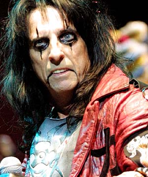 Alice Cooper  piano sheets