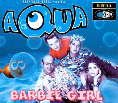 Aqua - Barbie Girl piano sheet music