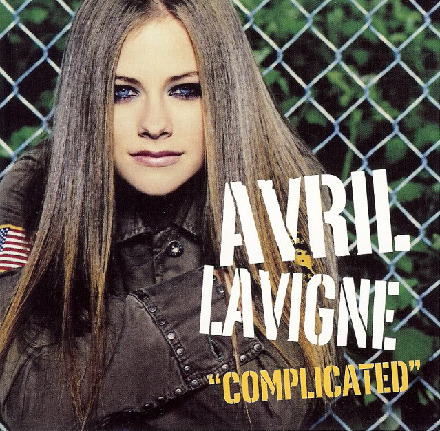 Avril Lavigne - Complicated piano sheet music