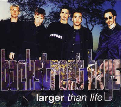 Backstreet Boys - Larger than Life piano sheet music