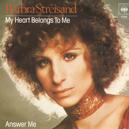 Barbra Streisand - My Heart Belongs to Me piano sheet music