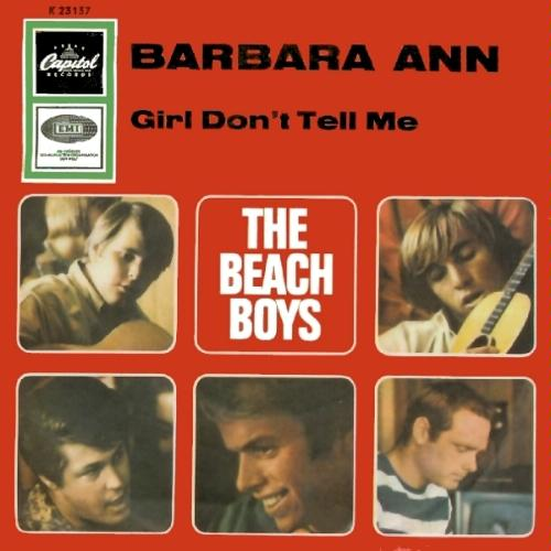 The Beach Boys - Barbara Ann piano sheet music