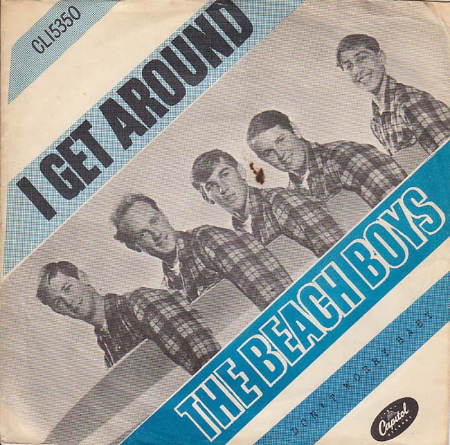 The Beach Boys - I Get Around piano sheet music