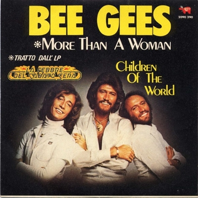 Bee Gees - More Than a Woman piano sheet music