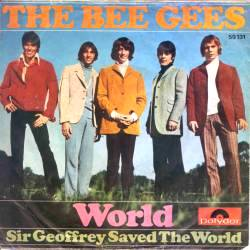 Bee Gees - World piano sheet music
