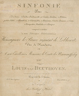 Ludwig van Beethoven - Theme From The 5th Symphony piano sheet music
