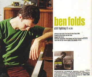 Ben Folds - Still Fighting It piano sheet music